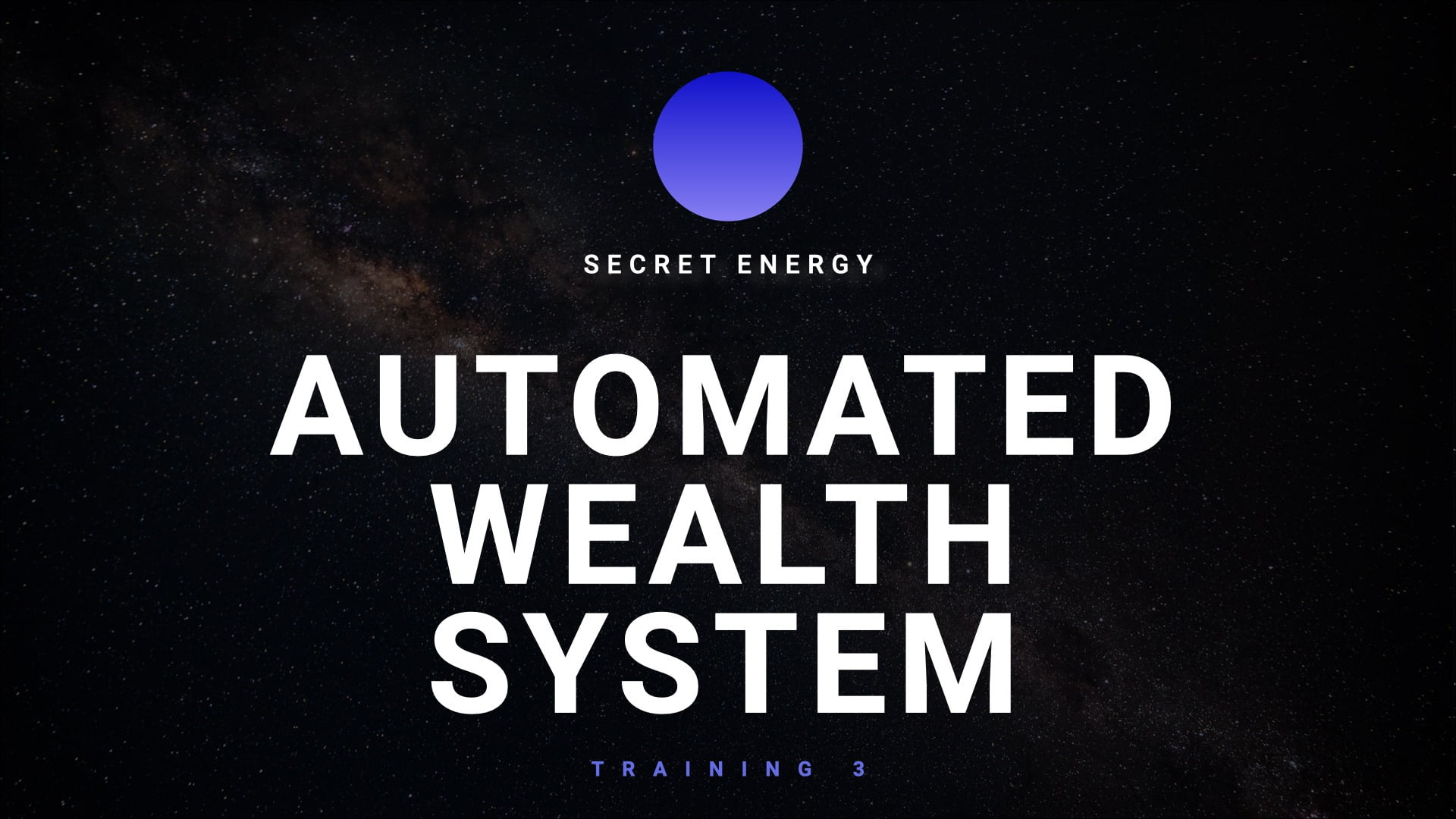 Automated Wealth Training 4.001